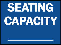 Madison Avenue, Inc. Limited Seating/Capacity Wall or Window Decal