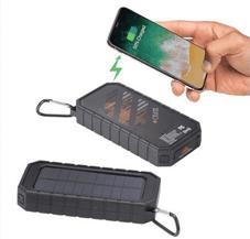 High Sierra IPX 5 Solar Fast Wireless Power Bank