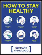 Madison Avenue, Inc. How To Stay Healthy Signs