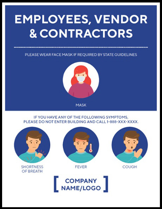 Madison Avenue, Inc. Employees, Vendor & Contractors Decal